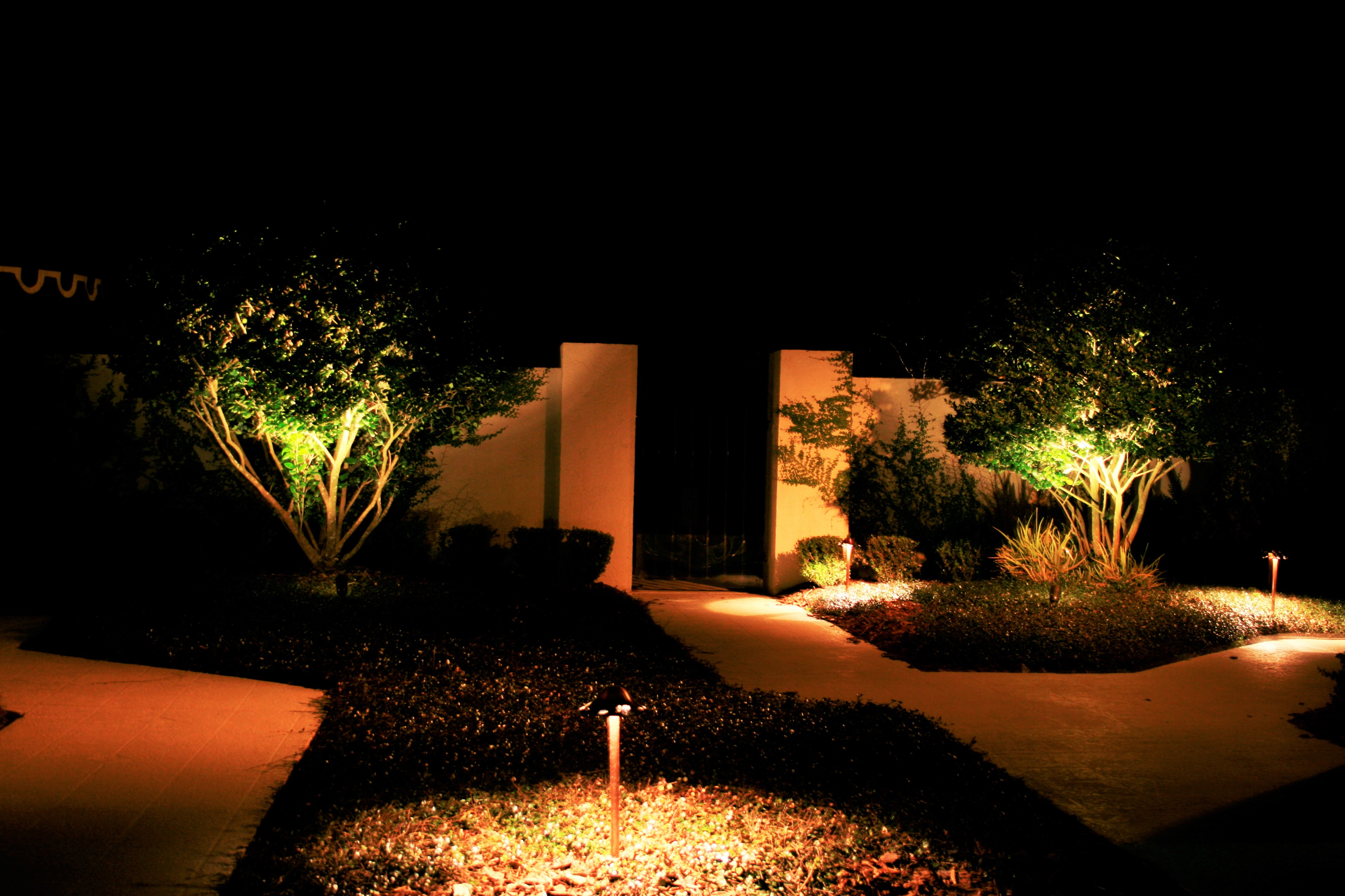 Path And Spread Outdoor Landscape Lighting Toronto